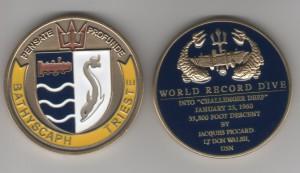 Trieste Challenge Coin