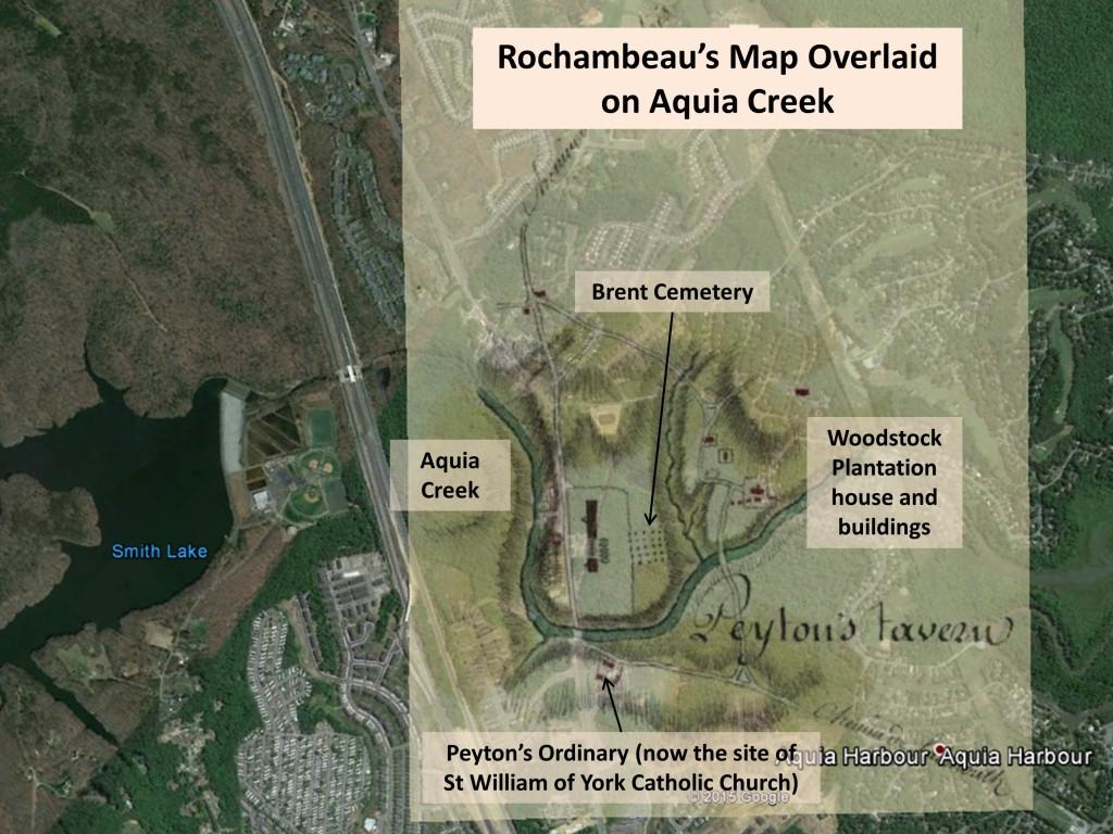 Rochambeau at Aquia Creek