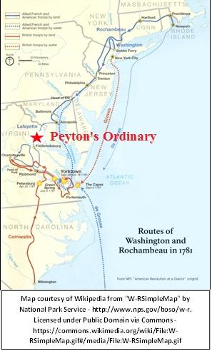 Rochambeau at Peytons Ordinary